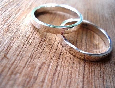 wedding bands set wedding band wedding rings set mens ring unisex ring highly polished