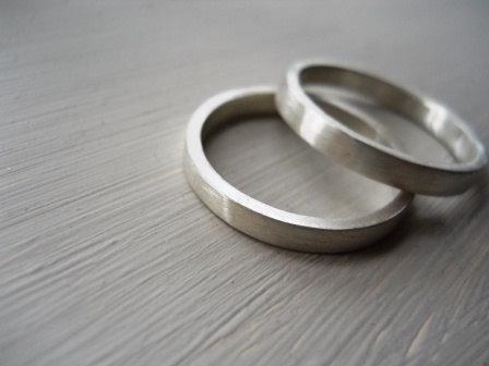 wedding bands set wedding band wedding rings set mens ring unisex ring matte