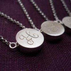 bridesmaids gift maid of honor gift personalized necklace sentimental jewelry
